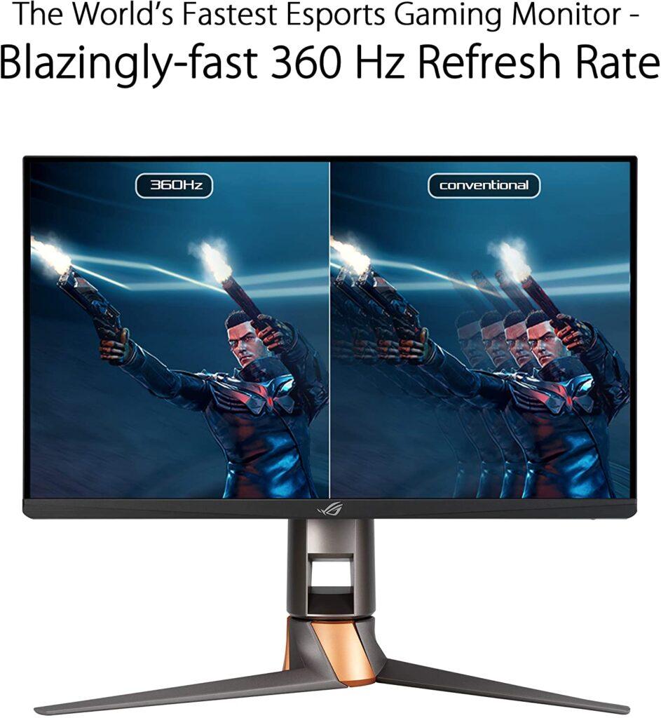 utilità monitor 360 hz