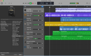 Utilizza GarageBand per registrare note vocali