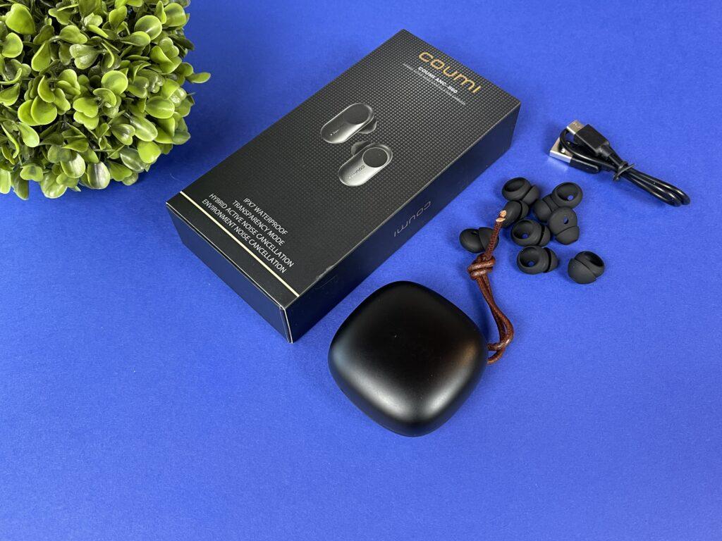 Recensione cuffie Coumi ANC-860 - contenuto confezione