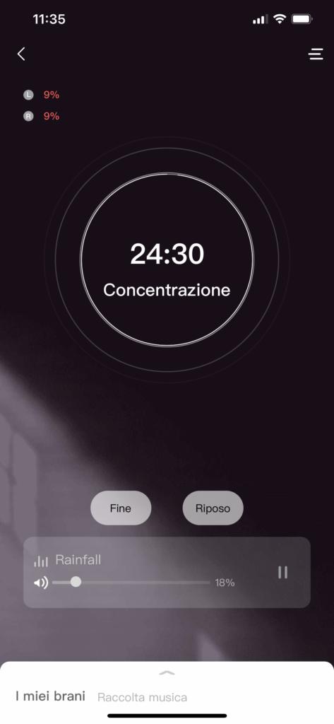 amazfit zenbuds - app zepp - 3