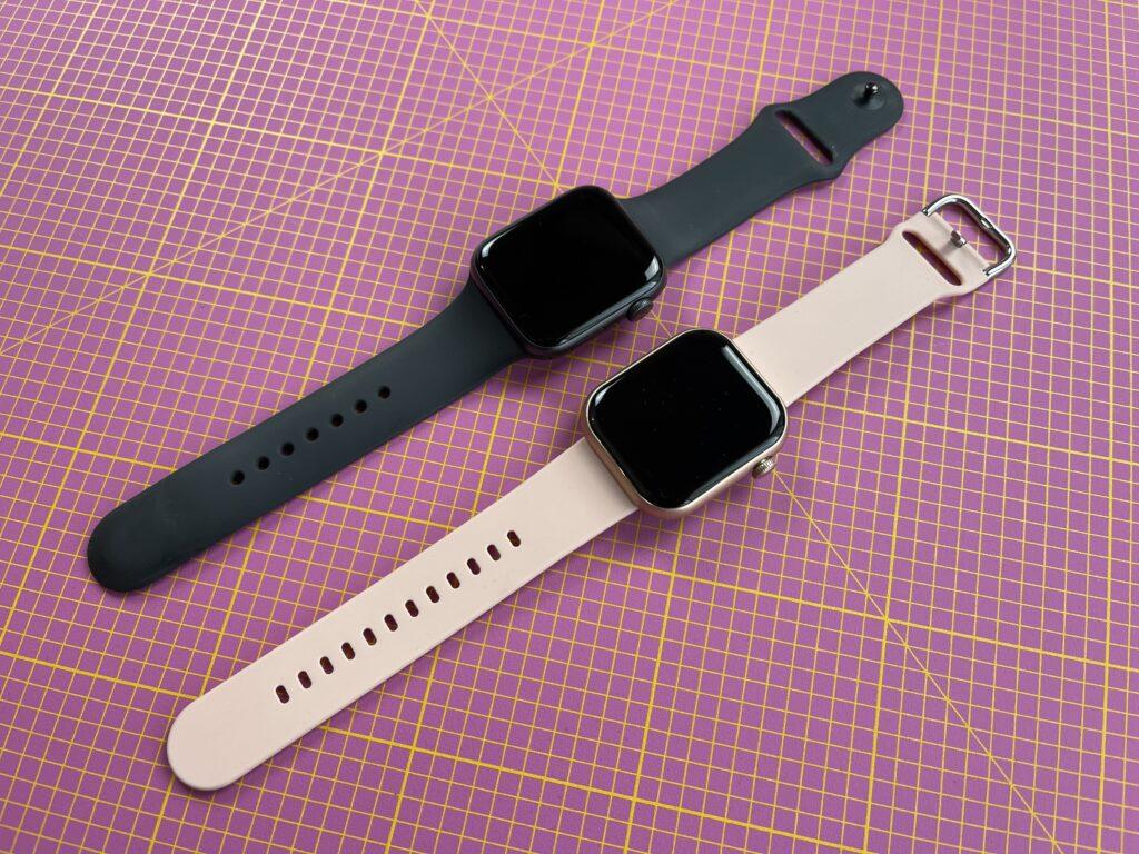 cubot c5 - confronto con apple watch 6