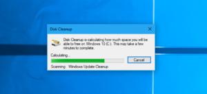 disk cleanup pulizia registro windows 10
