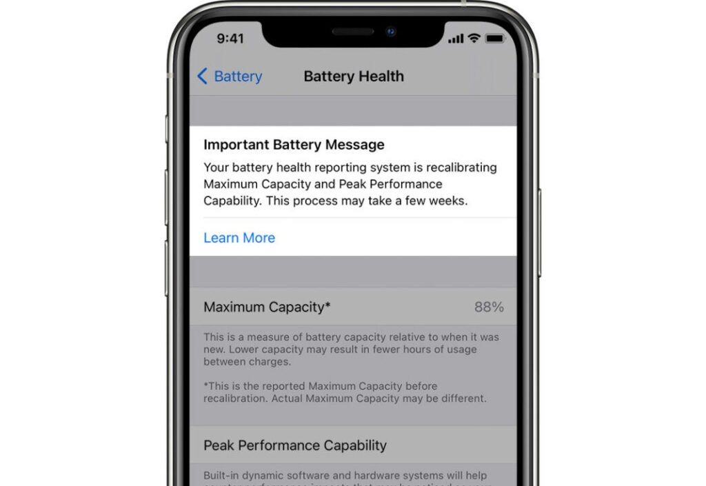 ios batteria apple iphone 11