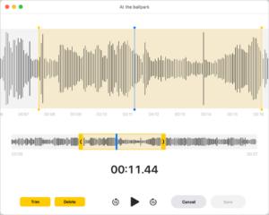 modifica file audio mac