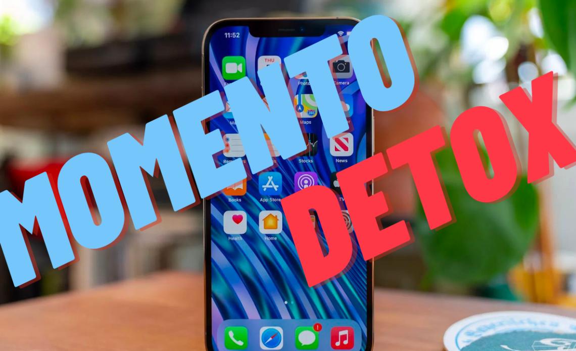 momento detox - limitare app e smartphone - iphone