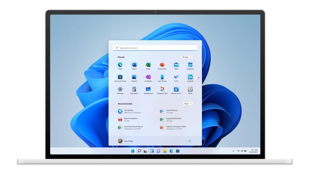 Display Windows 11