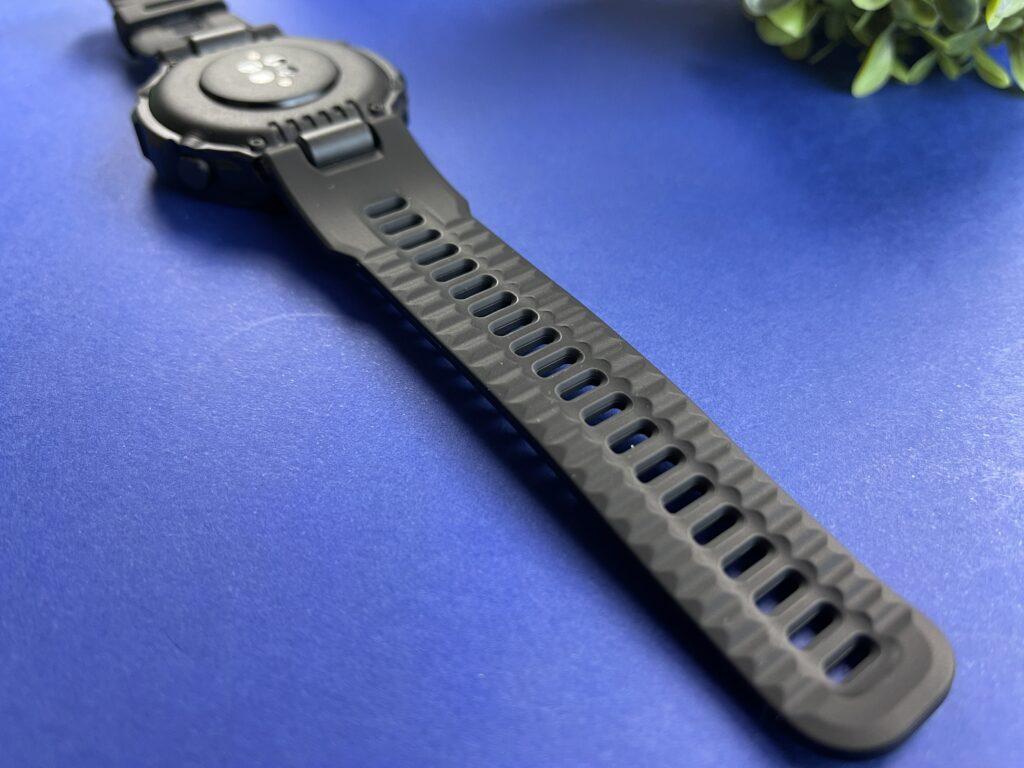 dettaglio cinturino Amazfit T-Rex Pro
