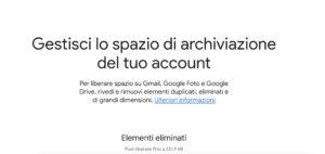 file grandi dimensioni su Google Drive