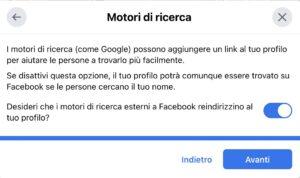 impostazioni Facebook privacy