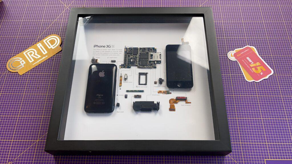quadro iPhone 3GS grid studio - 1