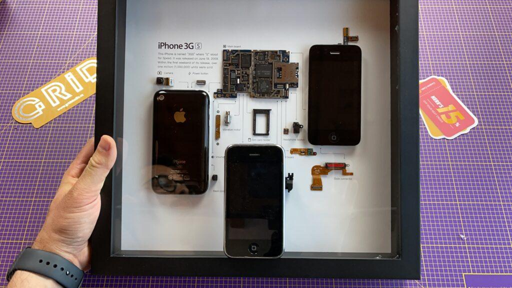 quadro iPhone 3GS grid studio - 5