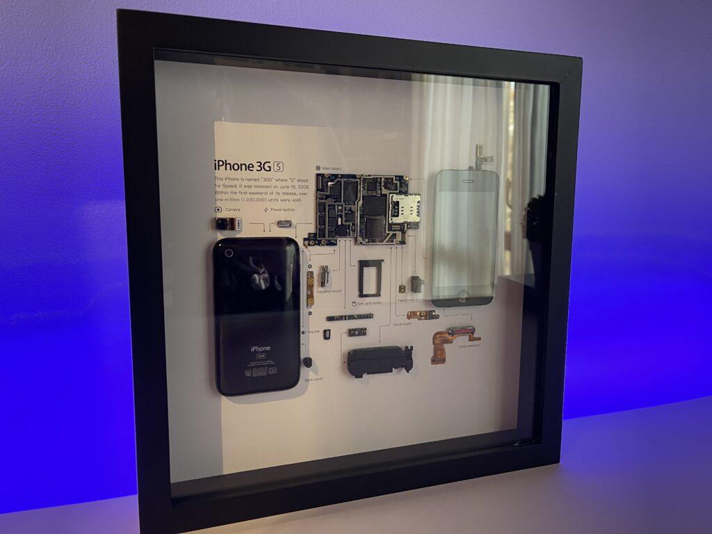 quadro iPhone 3GS grid studio - lato