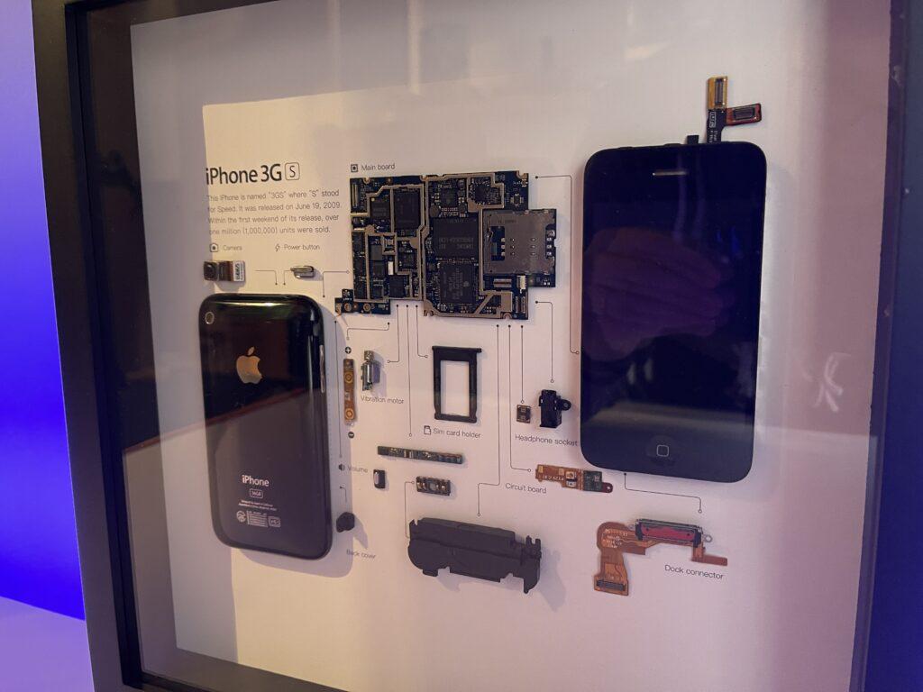 quadro iPhone 3GS grid studio - lato 2