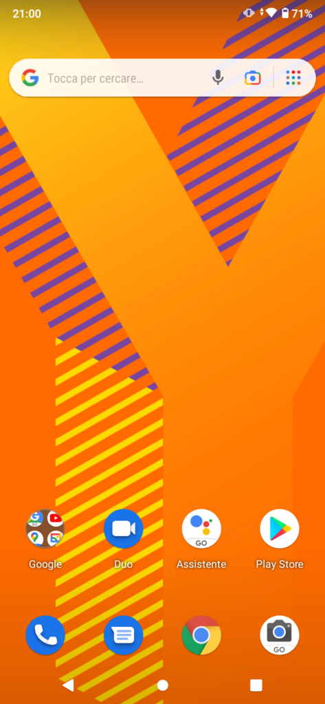 recensione wiko y62 - sistema android 11 go