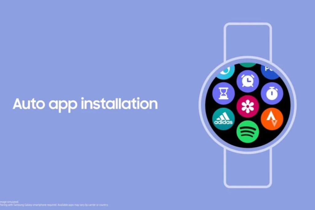 samsung one ui watch app