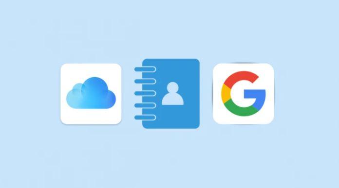 Copiare contatti iCloud su Gmail