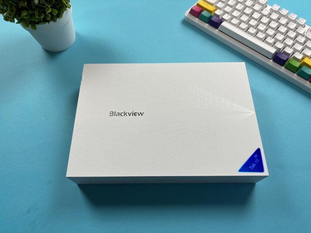 Recensione Blackview Tab 10 2021 - confezione