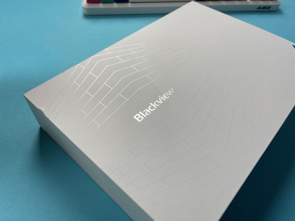 Recensione Blackview Tab 10 2021 - dettaglio scatola
