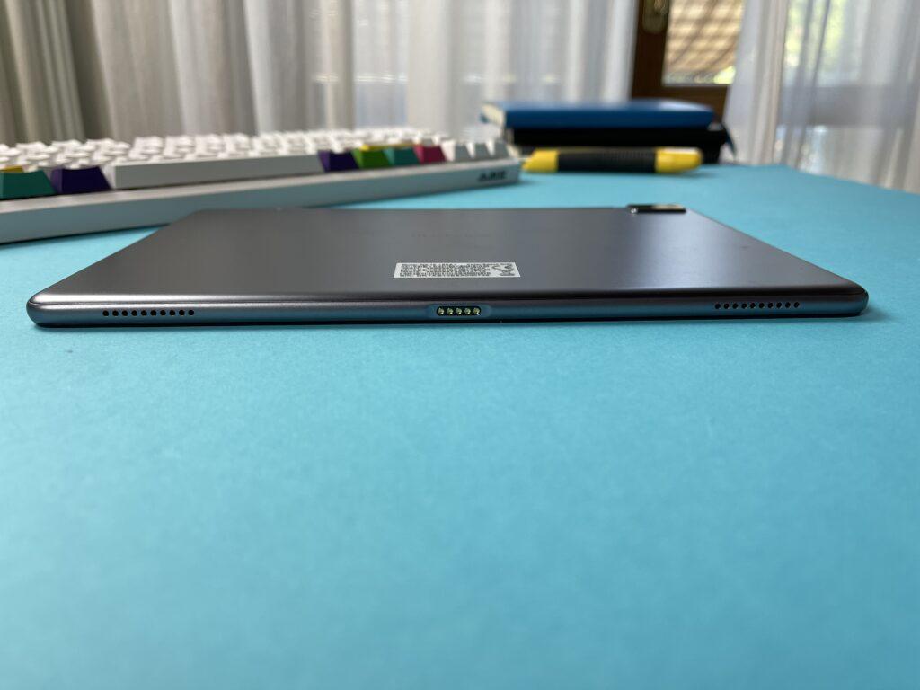 Recensione Blackview Tab 10 2021 - doppio speaker