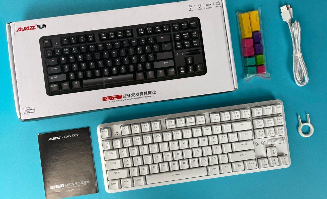 Recensione tastiera meccanica Ajazz K870T