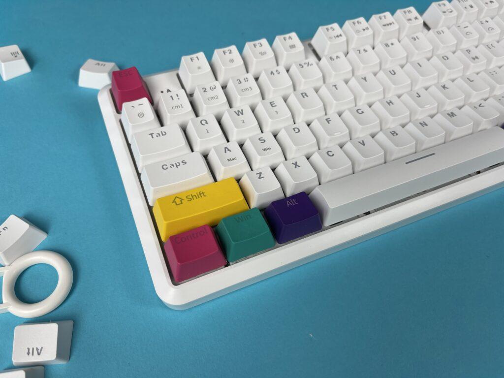 keycaps colorati per tastiera meccanica Ajazz K870T