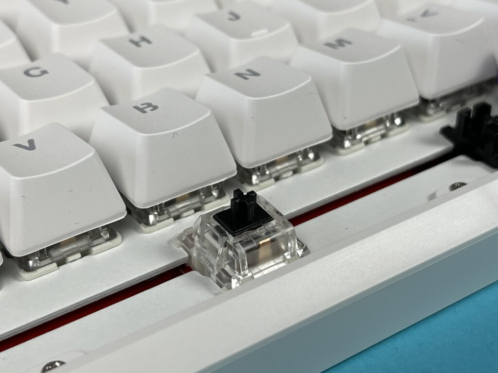 switch huano black tastiera meccanica Ajazz K870T