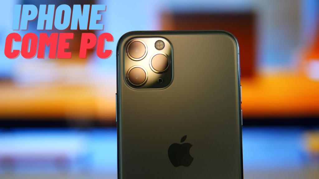 IPHONE sostituisce PC