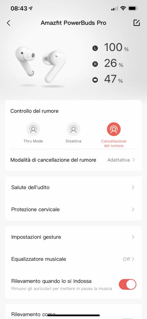 app zepp - Amazfit Powerbuds Pro - screenshot 1
