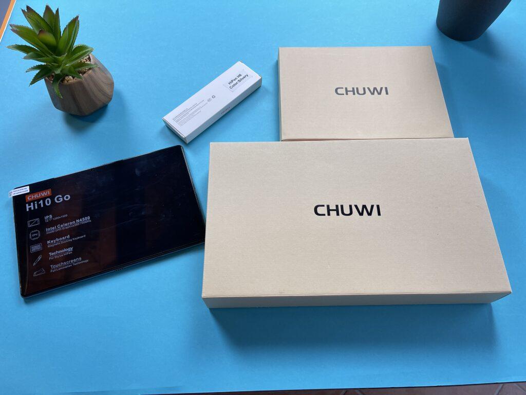 confezione Chuwi Hi10 Go