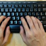 tastiera scrittura