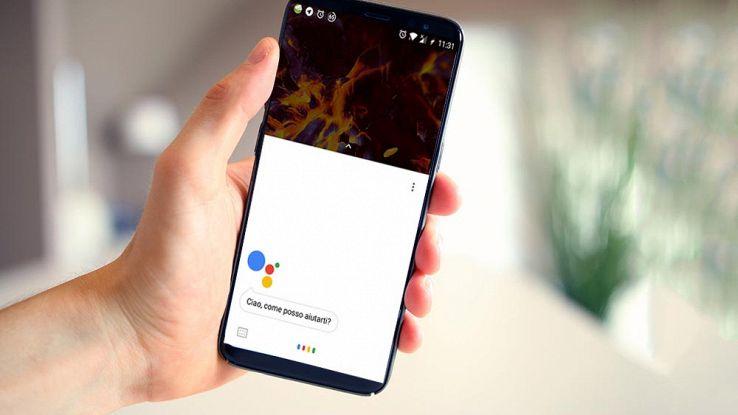 bloccare sbloccare smartphone assistente google