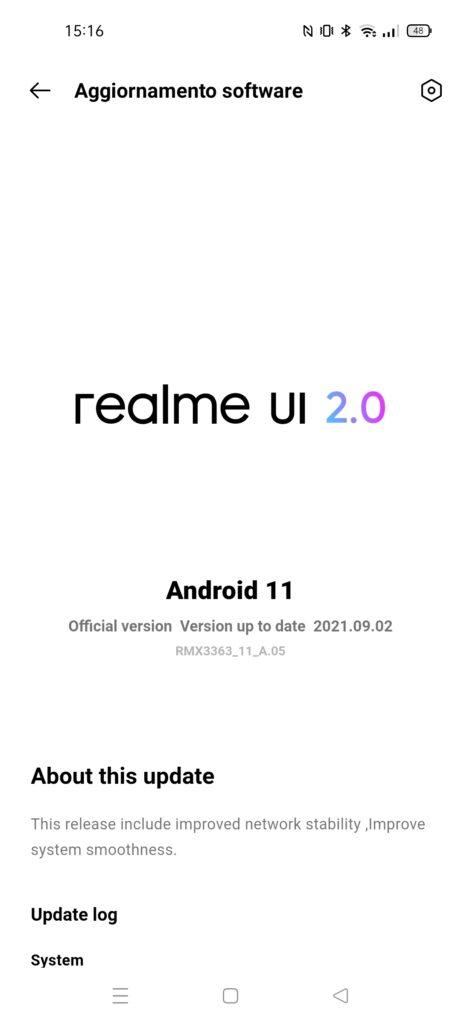 Recensione Realme GT Master Edition - realme ui 2